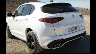 TWINTURBO STELVIO QUADRIFOGLIO EXHAUST SOUND COMPILATION
