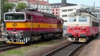 Vlaky Brno: brněnské železniční momentky, květen 2010