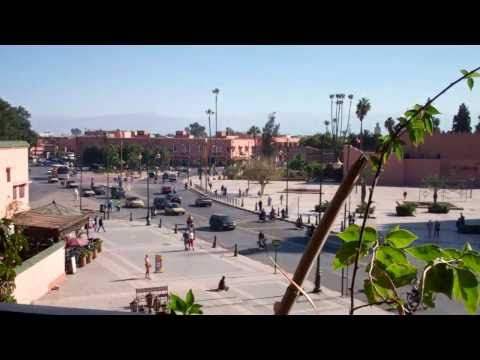 View of Marrakech Morocco