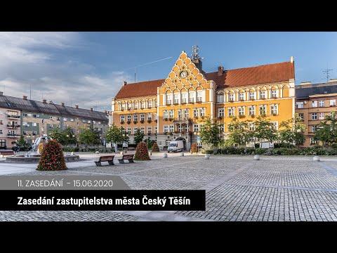 Zasedání zastupitelstva Český Těšín 15. 6. 2020