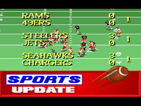 NFL Football (Week 11: Chiefs - Raiders) (Distinctive Software) (MS-DOS) [1992] [PC Longplay]
