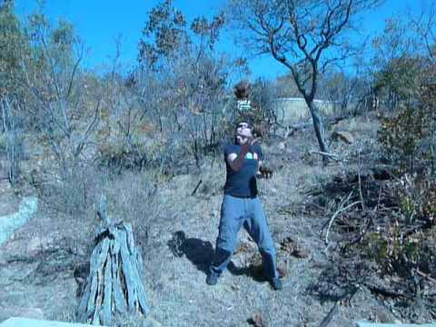 Juggling Elephant Poop in South Africa