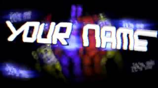 Free fnaf intro template How to download in description