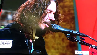 Chris Cornell's last Television performance on CBS This Morning