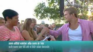 Basshunter - Boten Anna live Allsång På Skansen