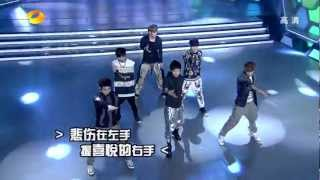 EXO-M - History (120609 HNTV Happy Camp) [Live HD]