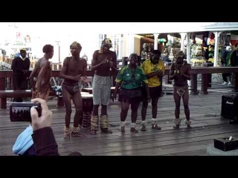 Traditional South African Dancers