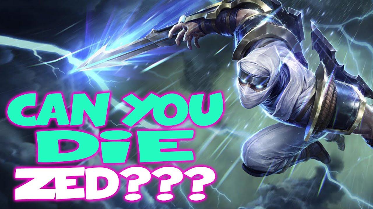 Amaz - Can You Die Zed?! - Amaz League of Legends