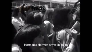 Herman's Hermits arrive at Tulsa Airport (1965)