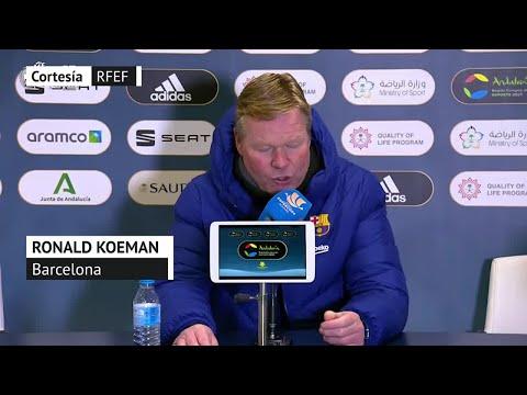 Supercopa España   Rueda de prensa de Ronald Koeman   Diario As