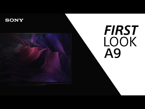 FIRST LOOK: Sony A9 MASTER Series TV