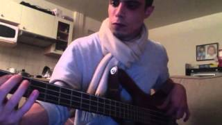 Wiz Khalifa Still Blazin bass cover