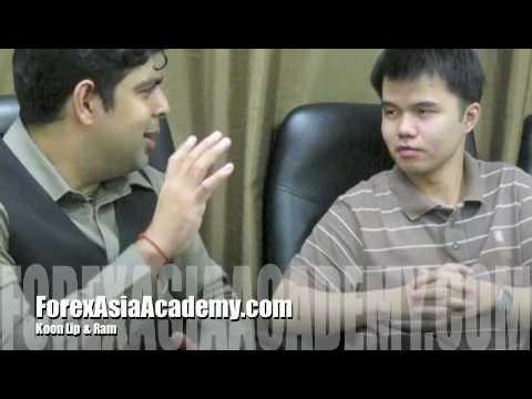 Ram interviewing Koon Lip on Forex Asia Congress 2010