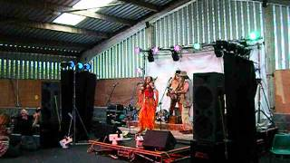 "APACHE JOHN BAND ""three men in a boat""live on the Sunrise Stage at SONIC ROCK SOLSTICE 2012"