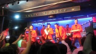 Efren David, el Romance Hecho Cumbia en apoyo a Tino López en el Salón Hidalgo