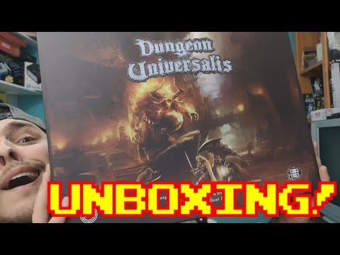 ES INFINITO!!    Dungeon Universalis Unboxing!