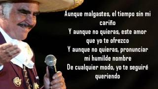 VICENTE FERNANDEZ - SUBLIME MUJER