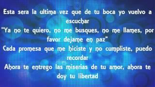 Bamby Ds Ft. Recks & Kronos - Te Dejo En Paz (Letra)