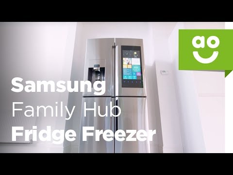 Samsung's Family Hub™ Fridge Freezer | ao.com