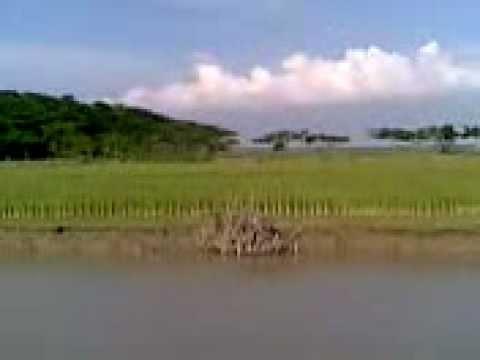 River Cruise Near Barisal, Bangladesh in 2007