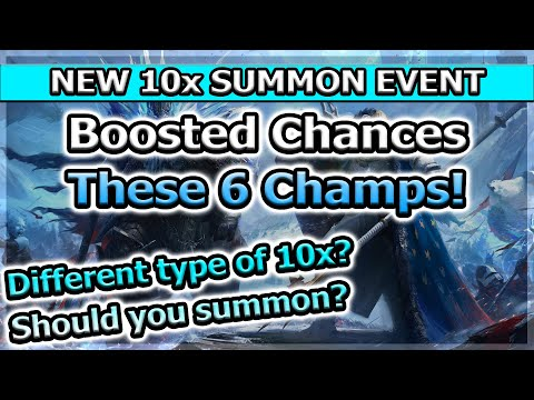 RAID Shadow Legends | NEW 10X SUMMON EVENT! | DIFFERENT TYPE OF 10X?