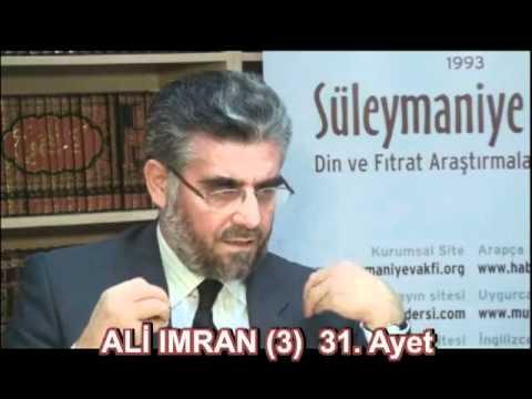 Prof  Dr  Abdülaziz BAYINDIR - Şahısların Vesile olamayacağı