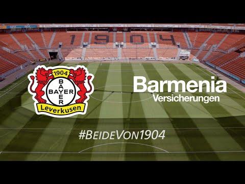 Barmenia Versicherungen & Bayer 04 Leverkusen - beide von 1904!