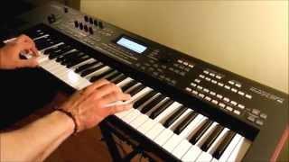 Prząśniczka - Moniuszko - Live Funky Version on Yamaha moXF6 by Piotr Zylbert (HD)