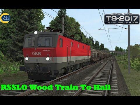 RSSLO Wood Train To Hall | ÖBB 1144 | Train Simulator 2017