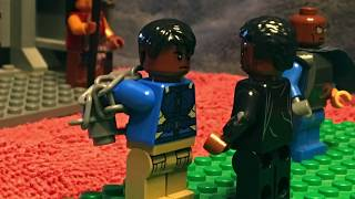 """KILLMONGER CHALLENGES T'CHALLA"" 