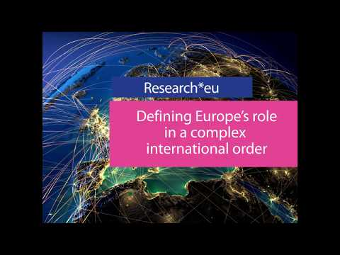 ISSUE 82 MAY 2019 research*eu magazine, CORDIS, European Commission photo