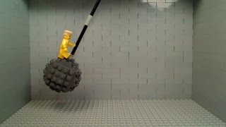 Lego Miley Cyrus - Wrecking Ball