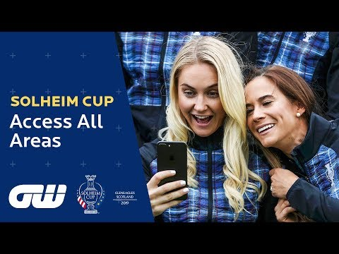 The Teams Meet at the Official Photoshoot! | Solheim Cup 2019: Access All Areas | Golfing World