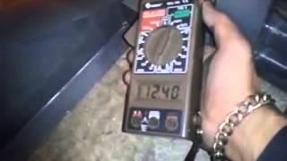 Extractor axial baltec transmisión poleas y bandas