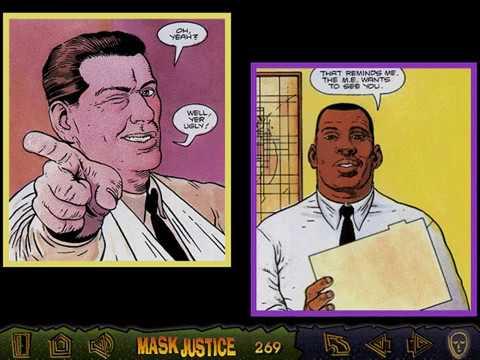 The Mask: The Origin (Mask Justice) (Metrolight, Cyber Comics) (Windows 3.x) [1994]
