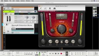 Custom Trap 808 Reason 9.5 Waves Distortion [Sound Design Sunday]