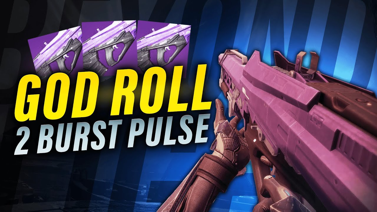 ZkMushroom - Stars and Shadow God Roll: Insane 2 Burst pulse rifle (Redrix 2.0)