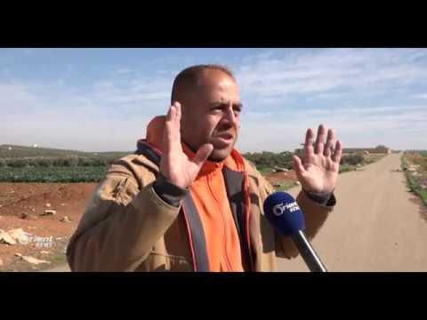 قطاع الطرق يهددون المواطنين على الطريق الحربي في درعا