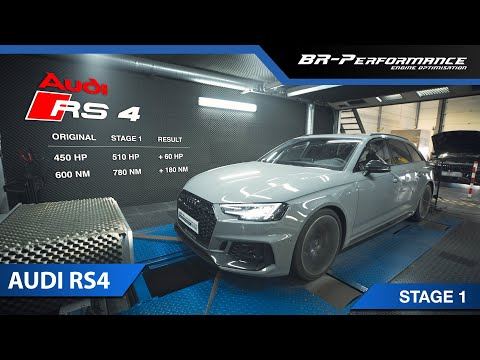 Audi RS4 / Stage 1 By BR-Performance