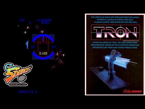 """TRON - """"CON 5 DUROS"""" Episodio 881 (+Space Paranoids / Arcade / PC) (1cc) (2 loops)"""