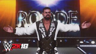 Bobby Roode habla de su entrada en WWE 2K18