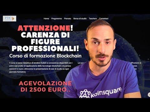 2500 Euro come borsa di studio per diventare un esperto di Blockchain!
