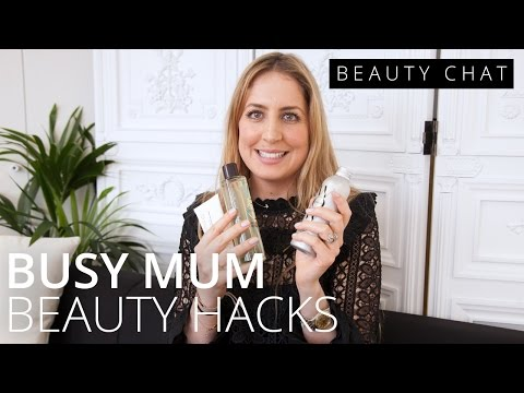 feelunique.com & Feel Unique Promo Code video: Alice Manning's Busy Mum Beauty Hacks | BEAUTY CHAT | Feelunique