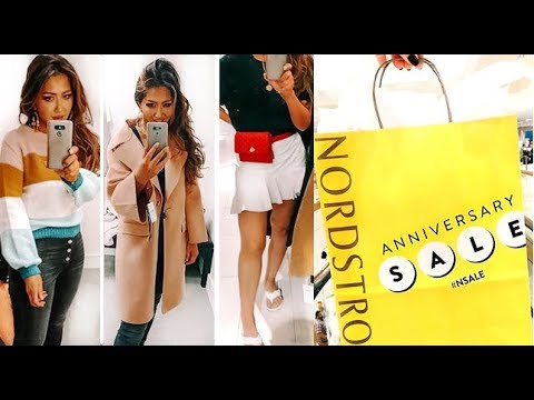 HUGE NORDSTROM Anniversary SALE TRY-ON CLOTHING HAUL 2018 – PT1  | IN-STORE