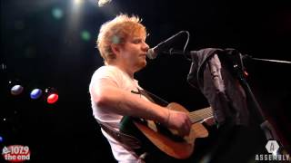Ed Sheeran - Give Me Love LIVE in Sacramento
