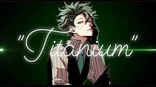 """Nightcore-""""Titanium"""" (male version)"""