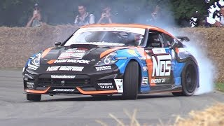 1000HP Nissan 370Z Sounds Like a Nascar!! – Nissan VK56 5.6 V8 Engine Swap!