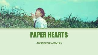 "BTS Jungkook ""Paper Hearts"" Lyrics"