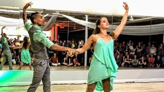 Davy Badian & Natalia Bonafin Brazilian Zouk Dance Performance in Chicago at Future Zouk