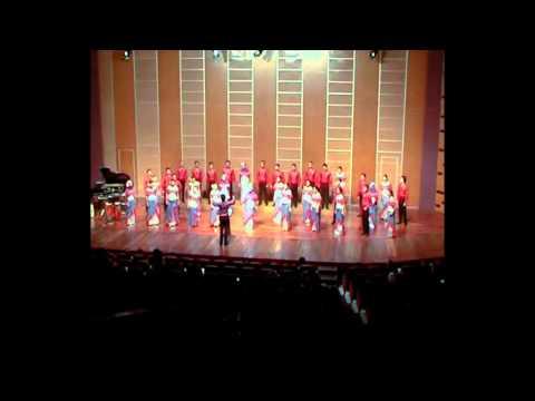 Infinito Singers sings Rosas Pandan
